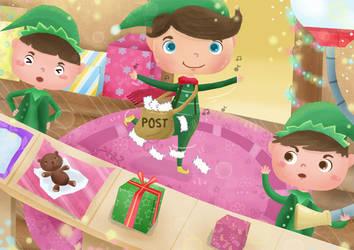 Dancing Elf by artforchildren