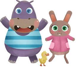 character cartoon sample by artforchildren