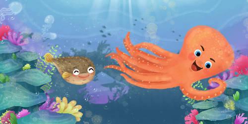 tale of under the sea by artforchildren