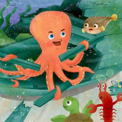 under the sea 2 by artforchildren