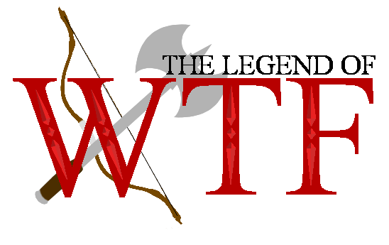Legend of WTF Logo by TwisterTheHedgehog on DeviantArt