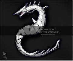 Commission - Cyber Dragon