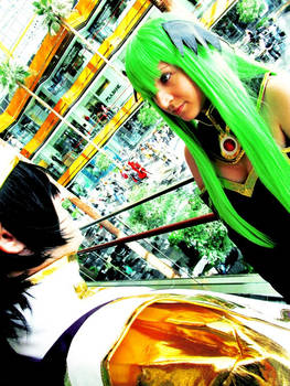 Emperor Lelouch and Empress C.C. Cosplay