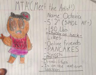 MTA! Meet the Artist Meme! by Justagummybear