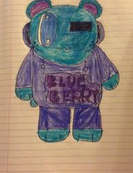 (Blue)Barry~ (GIFT OC) by Justagummybear
