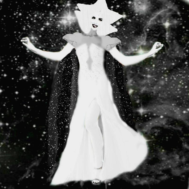 Realistic SU(White Diamond) by SharonQuinn on DeviantArt