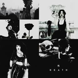 DC aesthetic(Death) by SharonQuinn