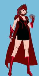 Marvel Random Design 4(Scarlet Witch) by SharonQuinn