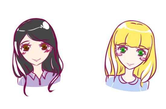 Best friends by Chocorabitsu