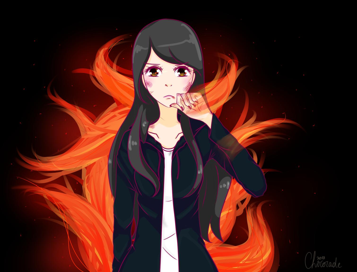 Fire by Chocorabitsu