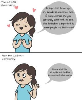 Inclusive Until Inconvenient