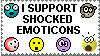 Stamp: Emoticons by xxsomeoneelsexx