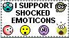 Stamp: Emoticons by xxsomeoneelsexx