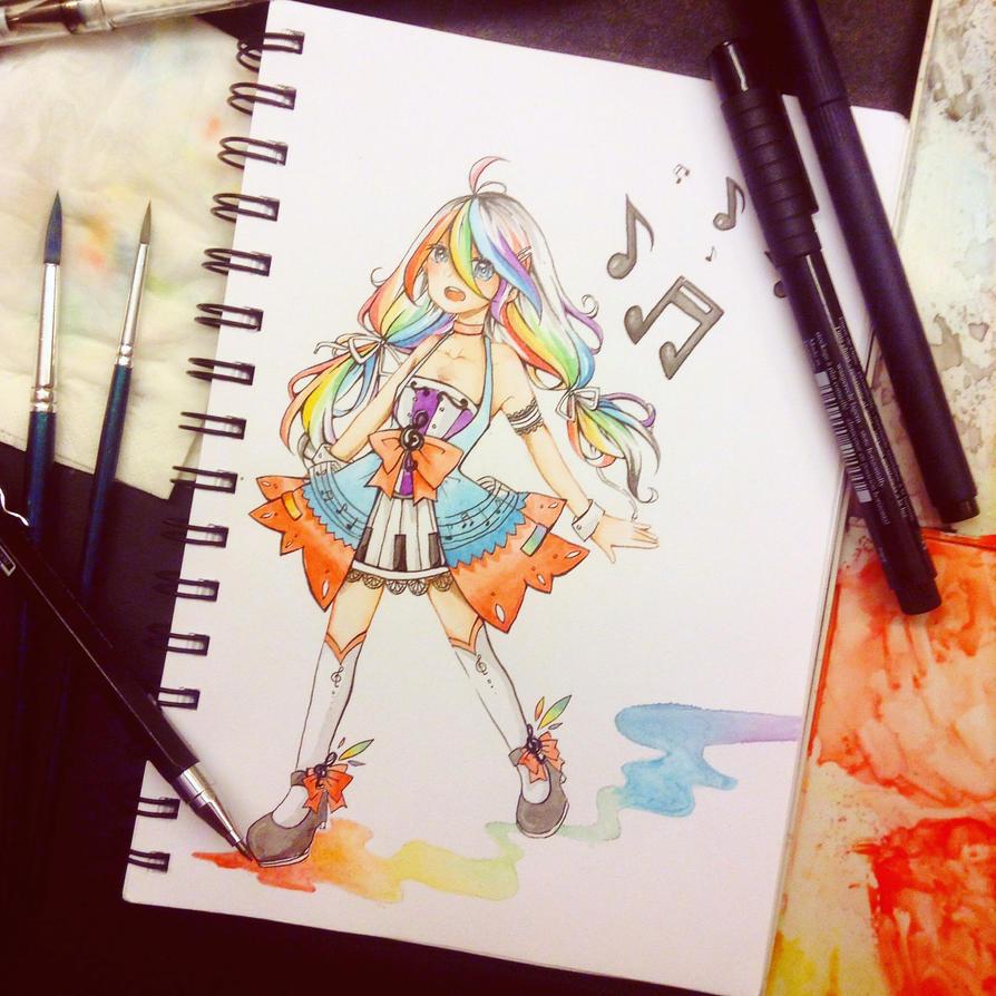 CE : Rainbow music~ by ollie0v0