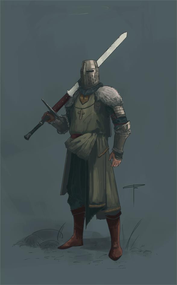 Crusader King Coloured by ranits123