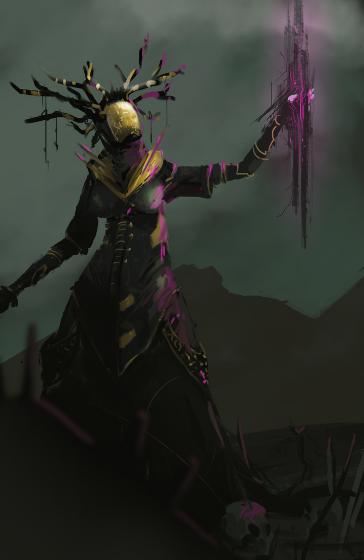 Void Queen WIP by ranits123