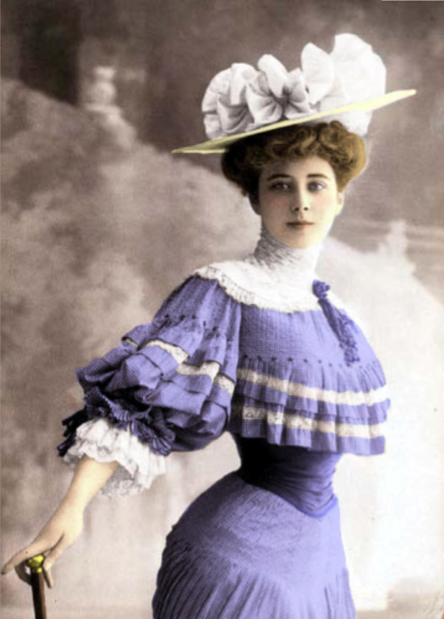 Фотография дамы 19 века 5 фотография