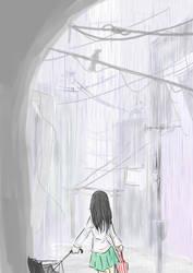 raining town by Jump-Button