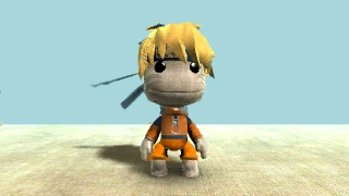 naruto sackboy by Jump-Button