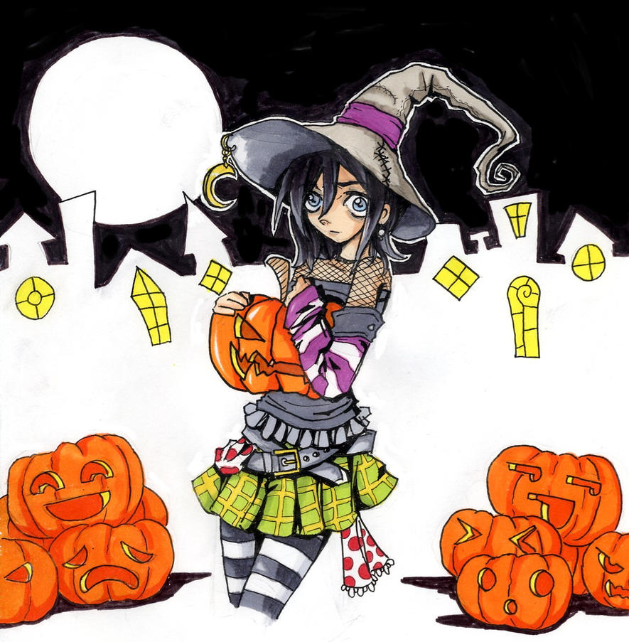 happy halloween 09 by Jump-Button