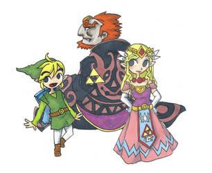 Zelda 25th anniversary by Jump-Button