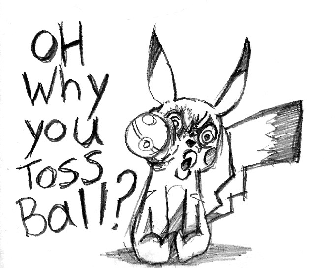 OH WHY YOU TOSS BALL? by Jump-Button