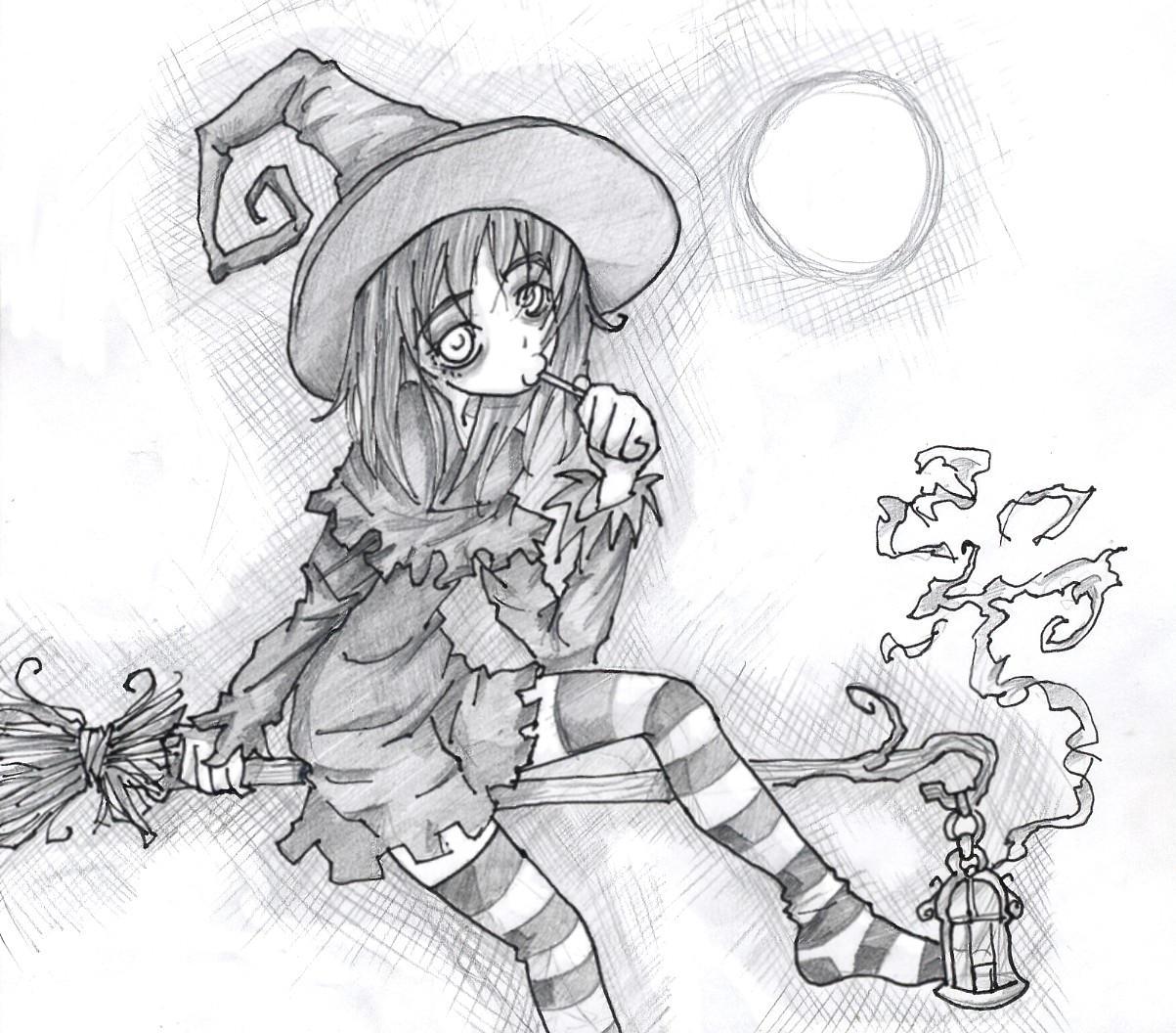 halloween girl 2rd by Jump-Button