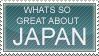 Japan Stamp by Sitavara