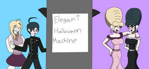 Kaede and Shuichi's Halloween Eleganceification