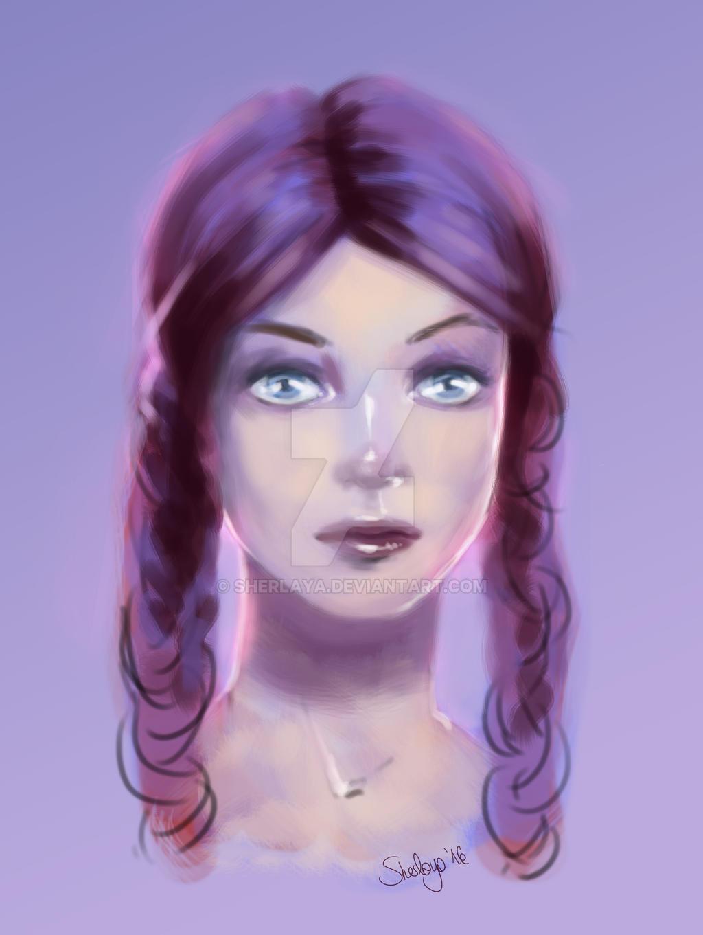Mrs Lilac by Sherlaya