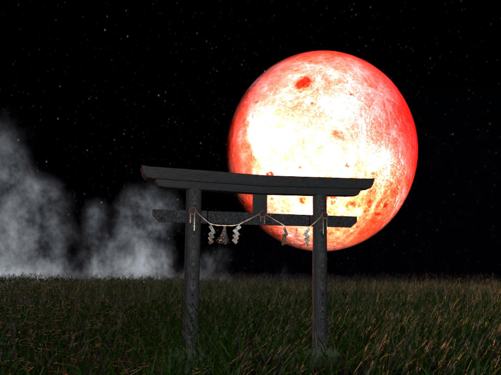 red moon shrine - photo #34