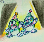 Bubbly Clownies