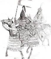 timurid cavalry by death29