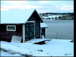 Ostersunds lake houses