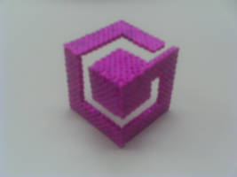 3D Game Cube Logo by Werbenjagermanjensen
