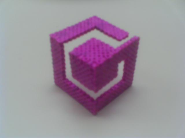 3D Game Cube Logo by Werbenjagermanjensen