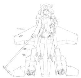 Angel Killer: Eagle draft by aea