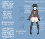 Yandere Game Player Character Concept
