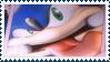 Sonic :P Stamp by Vertekins