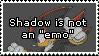Shadow isn't emo