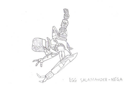 Egg Salamander-Nega