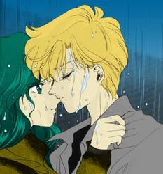 Haruka and Michiru by Alex091