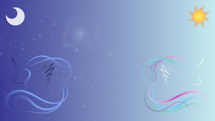 Luna and Celestia - Implied (1080p) by Jewelweed-Shine