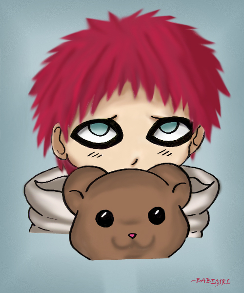 Baby gaara:just you and me... by BabeGurl on DeviantArt Gaara As A Baby