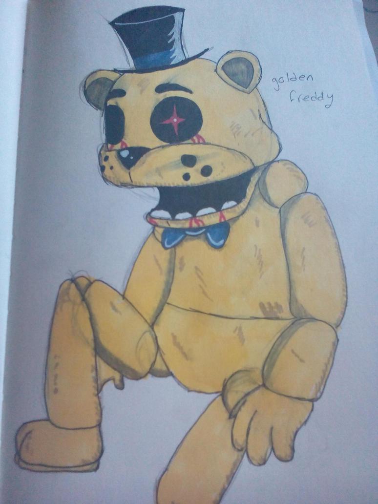 golden Freddy by tooncooro
