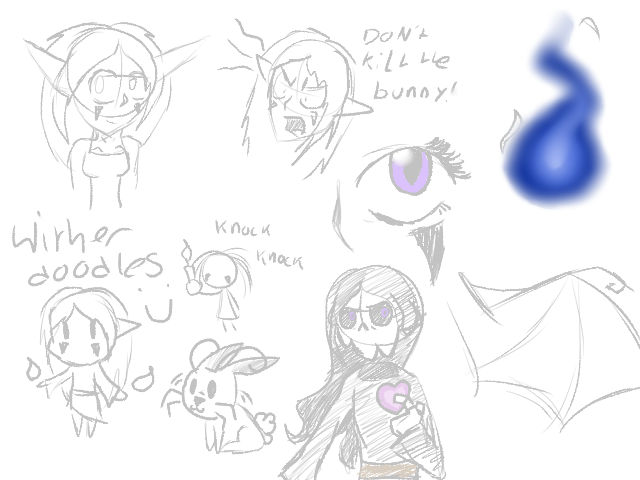 Wither doodles by tooncooro
