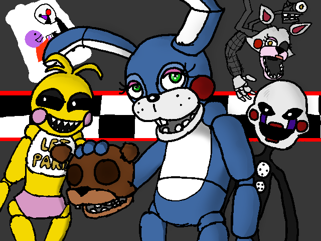 just some FNAF art o3o by tooncooro