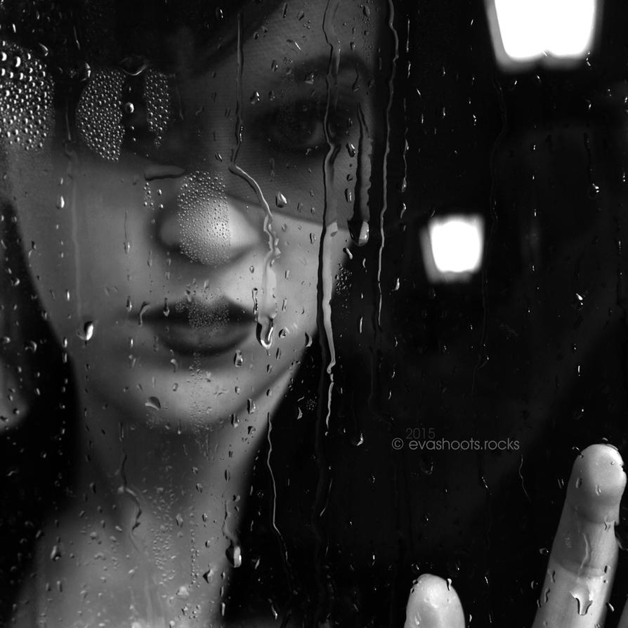 Rain 05 - the outside by EvaShoots