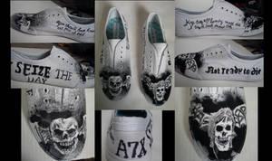 A7X Custom Shoes