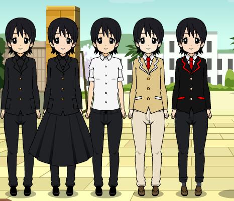 Yandere Simulator Male Uniforms by Shaula-chan on DeviantArt